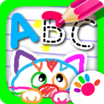 ABC DRAW! Alphabet games Preschool! Kids DRAWING 2 for pc icon