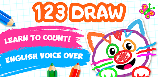 Bini 123 Draw🎨 Toddler Counting Drawing for Kids pc screenshot