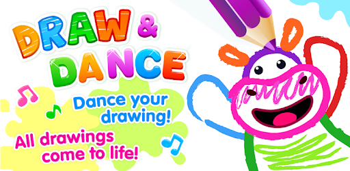 Bini DRAW & DANCE! Painting Toddler Coloring Apps pc screenshot