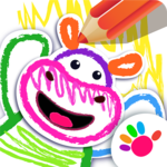 Bini DRAW & DANCE! Painting Toddler Coloring Apps for pc icon