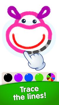 Bini DRAW & DANCE! Painting Toddler Coloring Apps APK screenshot 1