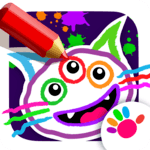 Drawing for Kids and Toddlers! Painting Apps! icon