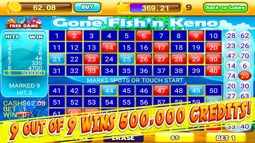Keno Numbers Free Keno Games APK screenshot 1