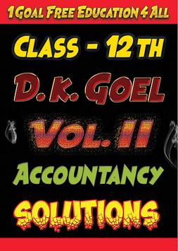 Account Class-12 Solutions (D K Goel) Vol-2 APK screenshot 1