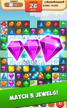 Jewel Match King APK screenshot 1