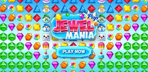 Jewel Pop Mania:Match 3 Puzzle pc screenshot