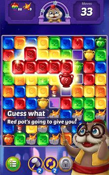 Jewel Pop: Treasure Island APK screenshot 1