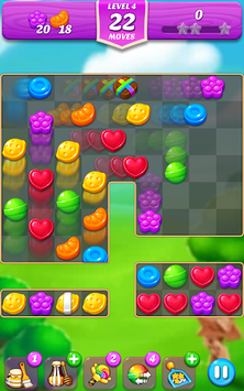 Lollipop & Marshmallow Match3 APK screenshot 1