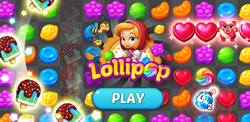 Lollipop: Sweet Taste Match 3 pc screenshot