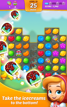 Lollipop: Sweet Taste Match 3 APK screenshot 1