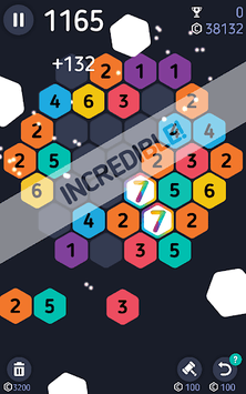 Make7! Hexa Puzzle APK screenshot 1