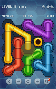 Pipe Lines : Hexa APK screenshot 1