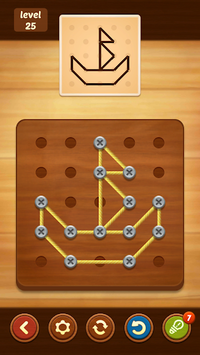 Line Puzzle: String Art APK screenshot 1