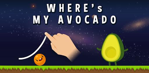 Where's My Avocado? Draw lines pc screenshot