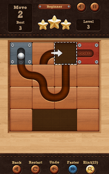 Roll the Ball® - slide puzzle APK screenshot 1