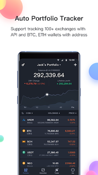 BitUniverse - Bitcoin Price, Crypto Portfolio APK screenshot 1