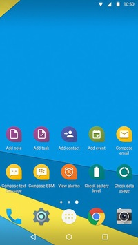 BlackBerry Launcher APK screenshot 1