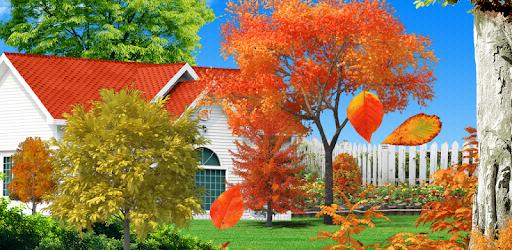 Autumn Garden Live Wallpaper pc screenshot
