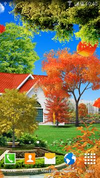Autumn Garden Live Wallpaper APK screenshot 1
