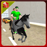 Mounted Horse 3D Transporter – Passenger Simulator icon