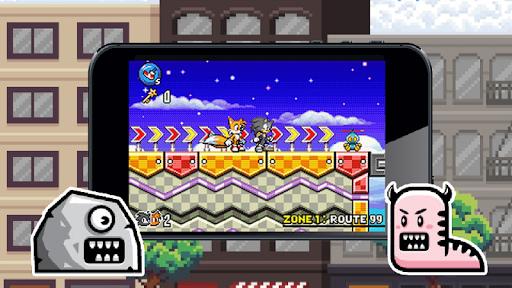 Blaze Ring Runner: Sliver, Amy, Rouge, Shadow APK screenshot 1