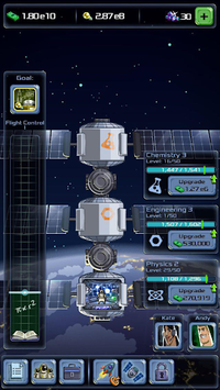Idle Tycoon: Space Company APK screenshot 1
