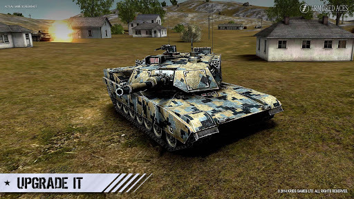 Armored Aces - 3D Tank War Online APK screenshot 1