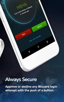 Blizzard Authenticator APK screenshot 1