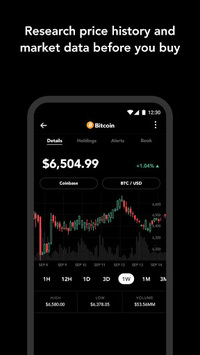 Blockfolio - Bitcoin and Cryptocurrency Tracker APK screenshot 1