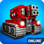 Blocky Cars - Online Shooting Game APK icon