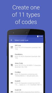 Barcode Generator APK screenshot 1
