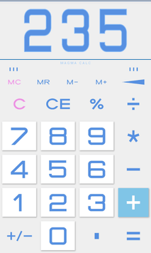 Calculator with Percent (Free) APK screenshot 1