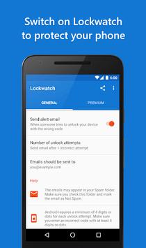 Lockwatch - Thief Catcher APK screenshot 1