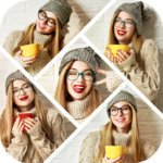 Auto Collage Photo Grid Maker , Pics Frame Editor icon