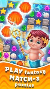 Seascapes : Trito's Match 3 Adventure APK screenshot 1