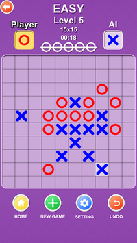 Five in a row - Gomoku APK screenshot 1