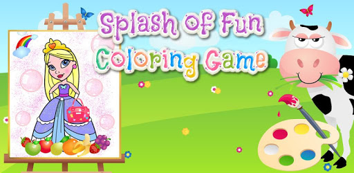 Splash of Fun Coloring Game pc screenshot