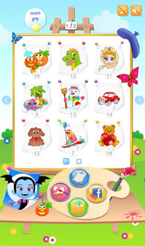 Splash of Fun Coloring Game APK screenshot 1