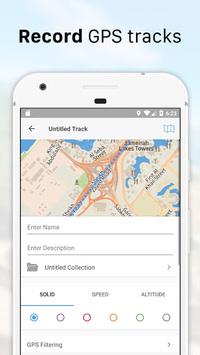 Galileo Offline Maps and Navigation APK screenshot 1