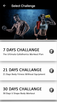 30 Day Body Fitness - Gym Workouts to Lose Weight APK screenshot 1