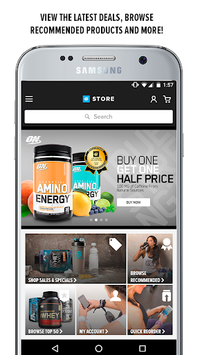 Bodybuilding.com Store APK screenshot 1