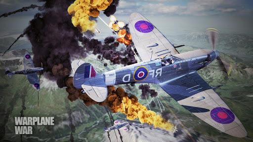 World Warplane War:Warfare sky APK screenshot 1