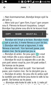 Bib Kreyol APK screenshot 1