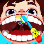 Crazy dentist games with surgery and braces APK icon