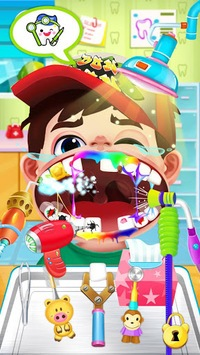 Crazy dentist games with surgery and braces APK screenshot 1