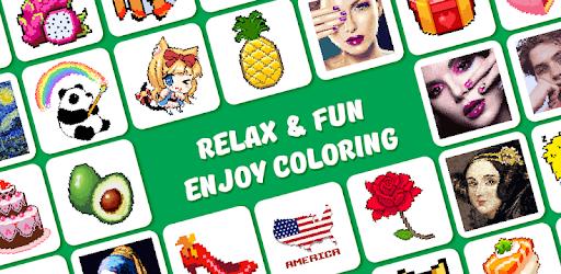 Pixel Art, Pixel Color by Number - Pixel Pop pc screenshot