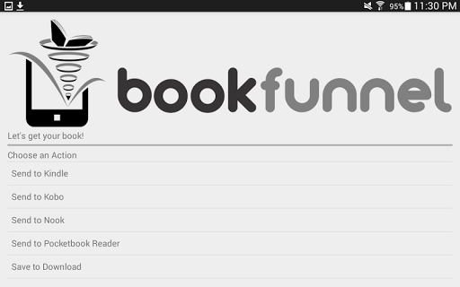 BookFunnel APK screenshot 1