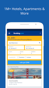 Booking.com Travel Deals APK screenshot 1
