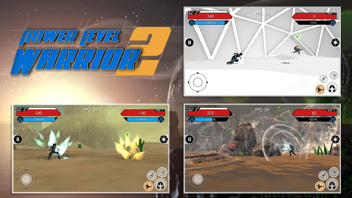 Power Level Warrior 2 APK screenshot 1