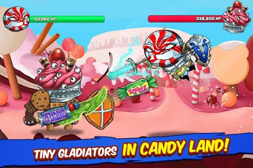 Tiny Gladiators - Fighting Tournament APK screenshot 1